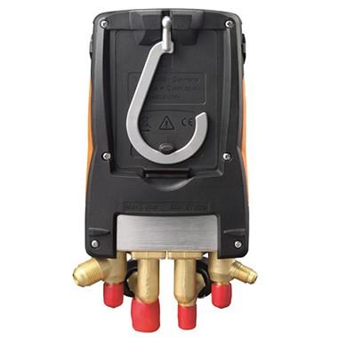 Kit Manifold Digital Testo 557 - com Bluetooth® e conjunto de 4 mangueiras