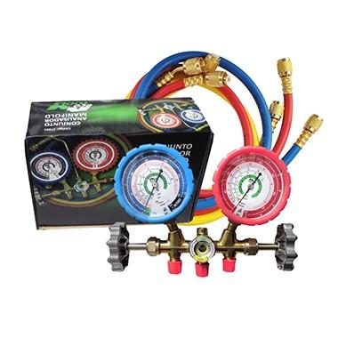 Manifold Ecotools c/ Adaptador 5/16 R410A/R22 /R404A /R507A