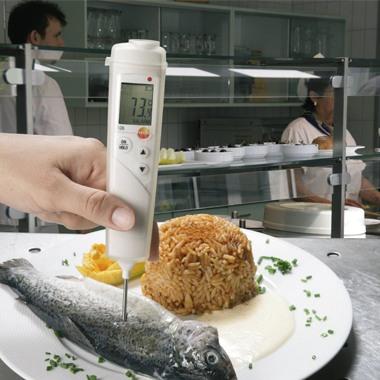 Termômetro de Alimentos Kit Testo 106