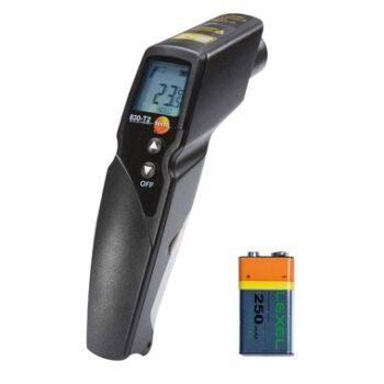 Termômetro Infravermelho com Mira Laser de 2 pontos (ótica 12:1) Testo 830-T2